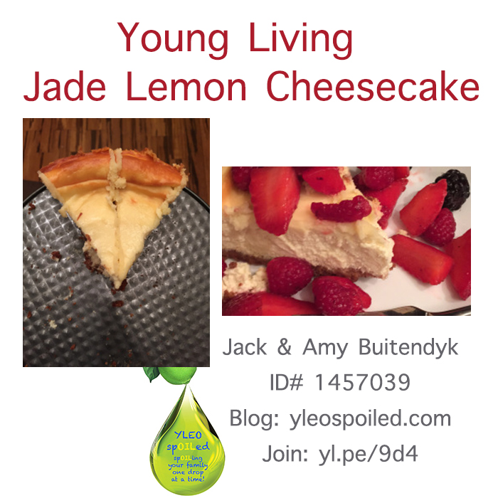 Jade Lemon Cheesecake