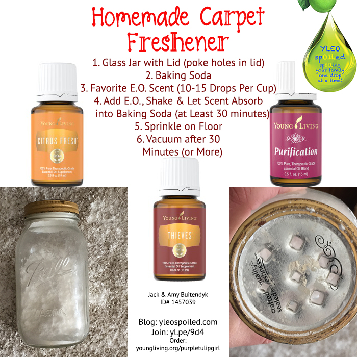 Homemade Carpet Freshener
