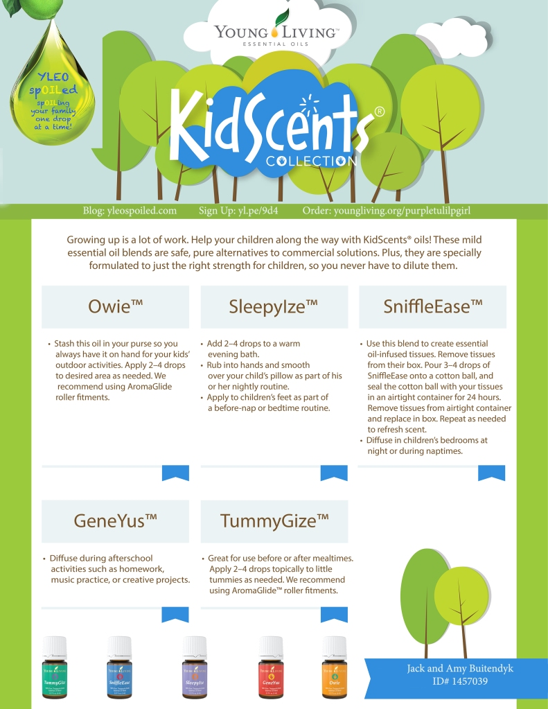 KidScents Marketing Flyer