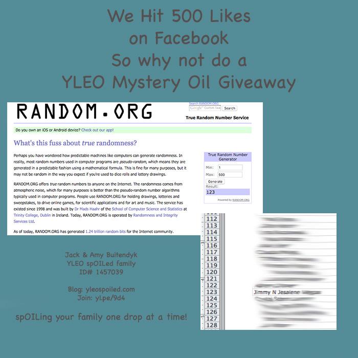 500 Likes on Facebook