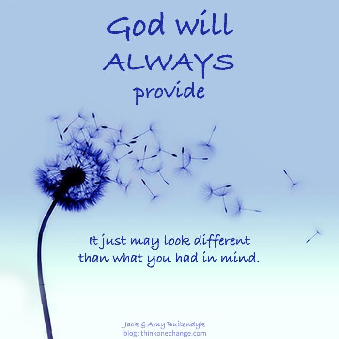 God Always Provides