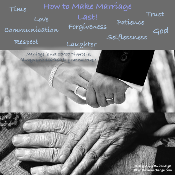 How to Make Marriage Last