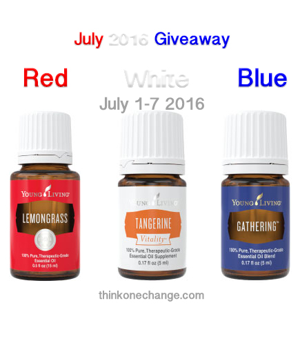 July '16 Giveaway
