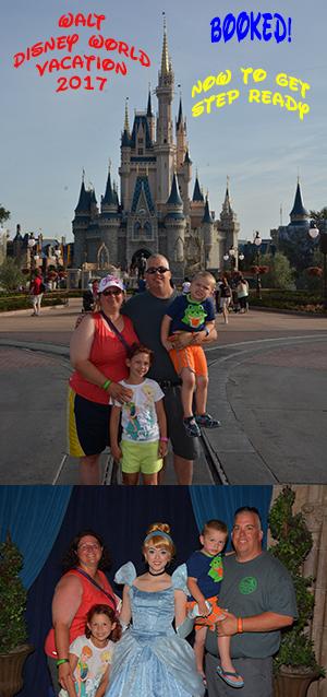 Step Ready 4 Disney Vacation 2017