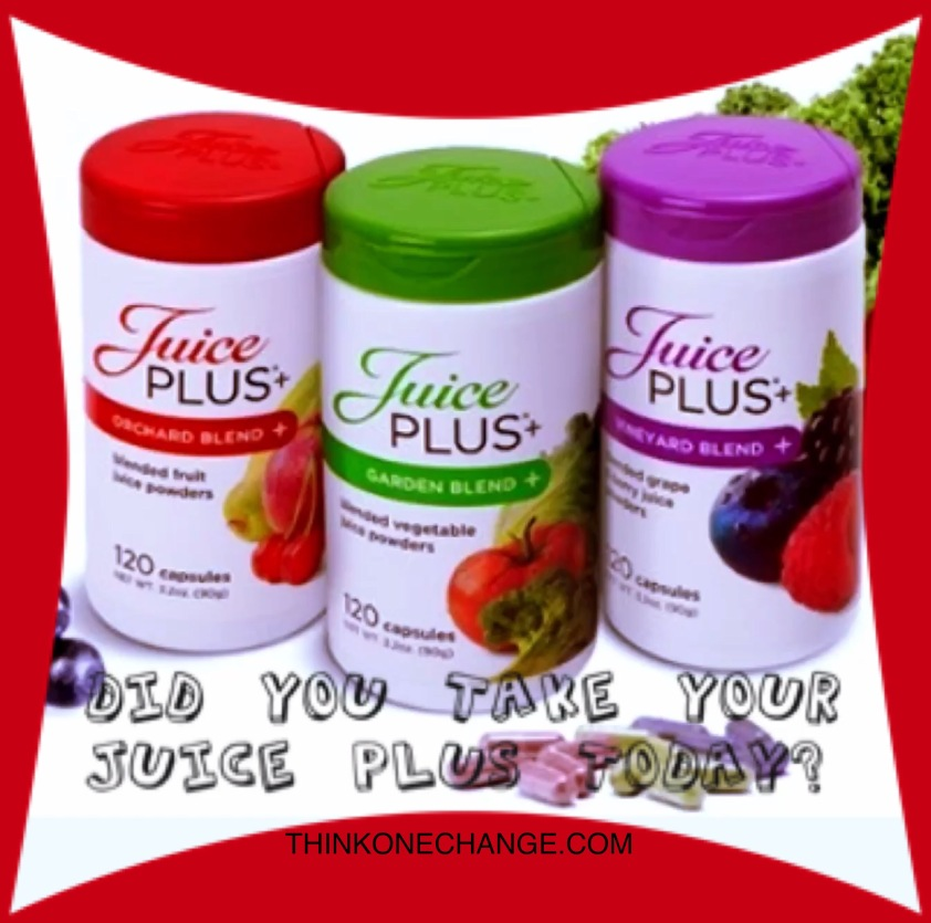 Did you take your Juice Plus today?
