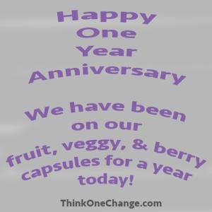 Happy One Year Anniversary!