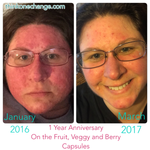12 Months On Fruit, Veggy and Berry Capsules