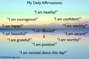 My Daily Affirmations