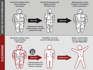 Diet/Over Exercising vs Cleansing.  #thinkonechange