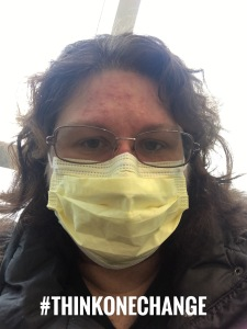 How I Go Outside When Illness Is Raging Around. Autoimmune Issues.  #thinkonechange