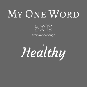 My One Word 2018